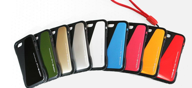 iPhoneの弱点「角」を守る!エアクッション構造のケース「ANY SHOCK Air Cushion Case For iPhone 5/5s」