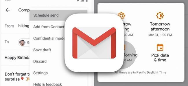 Gmailが指定日時にメールを送信できる予約送信機能を搭載へ
