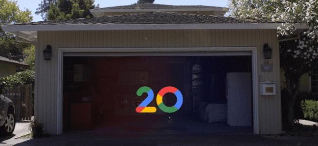 Googleが誕生20年を記念して、Googleが生まれたガレージ内の様子をストリートビューで公開
