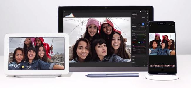 Google、製品発表会開始と同時に新製品のプロモーション動画を公開。スマートフォン、スマートディスプレイ、2 in 1タブレットが登場