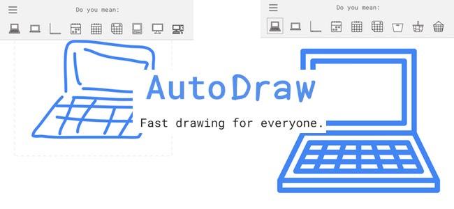 下手でも適当でも絵を書けばキレイな絵に変換してくれるGoogleの新サービス「AutoDraw」が凄い!楽しい!