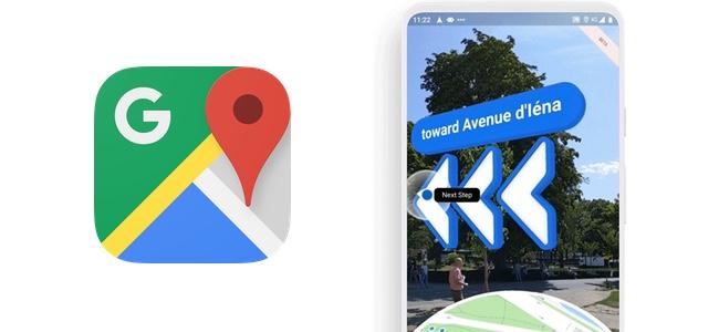 Googleの謹製端末Pixelシリーズでしか使えなかったGoogle マップのARナビ機能がiPhoneでも使えるように