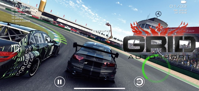 """iPhone最高品質のレースゲーム""の歴史が塗り変わった「GRID Autosport」リリース"