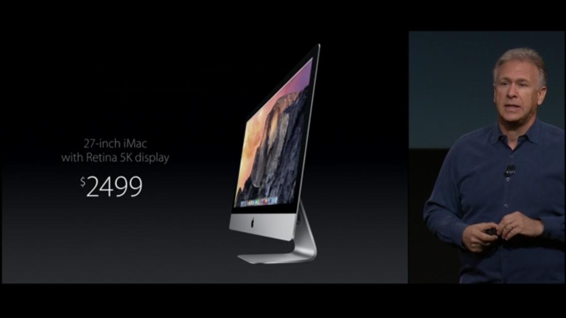 iMac 5k retina disalay model 018