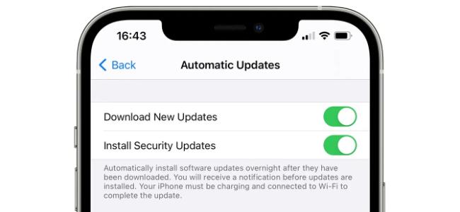 AppleがiOS 14.5以降はセキュリティアップデートをOSアップデートとは別に配信する方法を検討中?