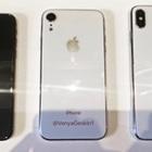 次期iPhone3機種全てのダミーユニットを並べて撮影した写真が投稿される