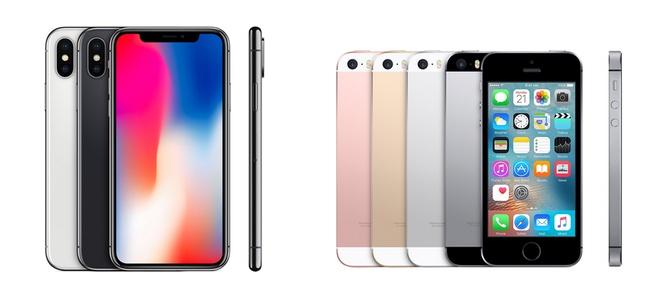 iPhoneXとiPhone SEが今年の次期iPhone発売と入れ替えで販売終了か