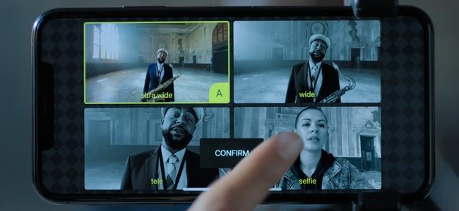 iPhone 11 Proの目玉機能として紹介されたマルチカメラ同時録画はiPhone 11やXS、XRでも利用可能
