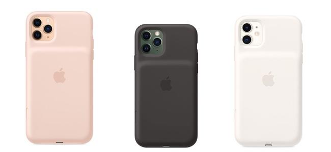 AppleがiPhone 11シリーズ3機種向けのSmart Battery Caseを発売開始。専用のカメラボタンを搭載、最大でバッテリー稼働時間を50%増
