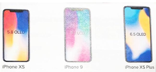 今年発売となる新iPhoneの名称は「iPhone XS」「iPhone XS Plus」「iPhone 9」の3機種?