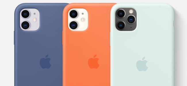 Appleが「iPhone 11」シリーズ用シリコーンケースと「Apple Watch」向けスポーツバンドの新色を発売開始