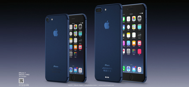 iPhone 7のカラーでは歴代続いた黒が無くなる!?新色「ディープブルー」に置き換わるとの噂