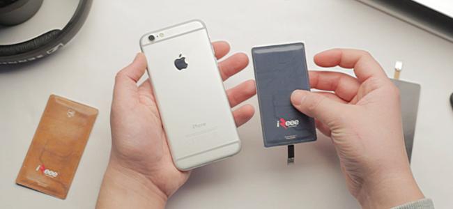 触るだけで充電できるカード型発電機「iZeee Touch Charger」がすごい
