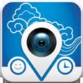 天気や時間、地名、今いるお店など、あらゆる情報を写真にレイアウトできるアプリ「InstaDaily」