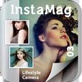 オシャレなポスターが誰でも簡単に作れる!写真加工アプリ「InstaMag」