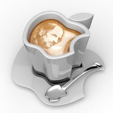 iphone iwatchの次はicup appleのリンゴ型が可愛いusb保温コーヒー