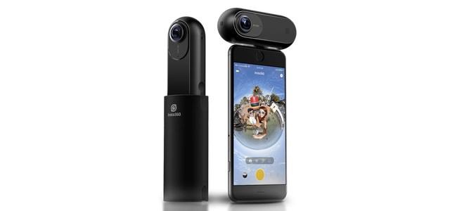 本体を振り回して撮影すれば映画「マトリックス」の様なバレットタイム撮影ができる360度カメラ「Insta360 ONE」発表