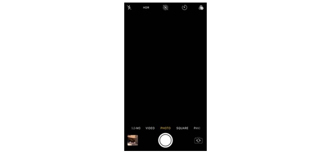 iOS 11.4のカメラで画面が映らず真っ暗な表示になる不具合が発生か