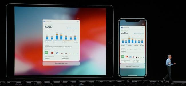 iOS 12の設定のバッテリー項目では新たにアプリ別の使用時間やグラフが細かくチェックできるように