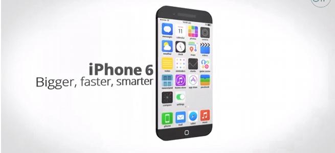 4.6インチディスプレイに1200万画素カメラ…なんとも実現しそうな「iPhone 6」のコンセプトムービーが公開!