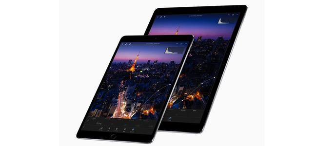 ベゼルが狭くなり画面の専有部分が大きく、内部スペックもパワーアップした「iPad Pro 10.5」発表!12.9インチも同じくアップデート