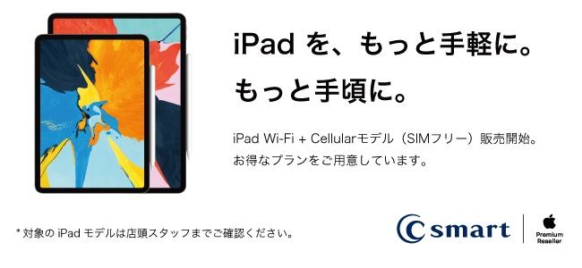 iPadのセルラーモデル、SIMフリー版がビックカメラ及びApple Premium Resellerで販売を開始