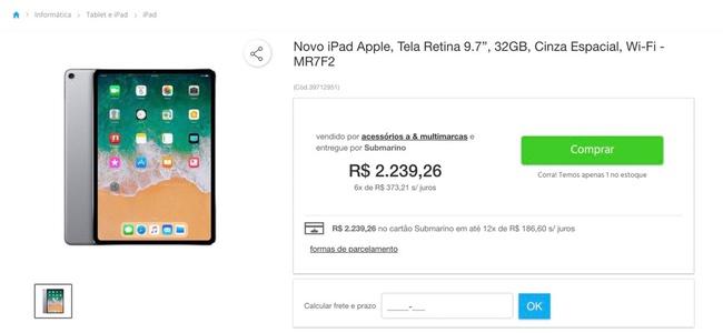 新iPad ProがブラジルのECサイトに登場?スペックも価格もどう考えても怪しげ