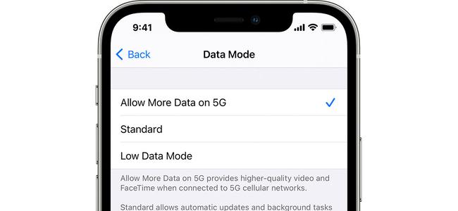 iPhone 12シリーズでは5G通信でOSアップデートが可能に
