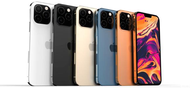 「iPhone 13 Pro」には新カラーとしてマットブラックやオレンジが追加されるかも