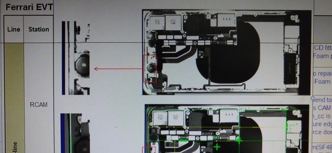 iPhone 8内部をX線で撮影したとされる写真が登場