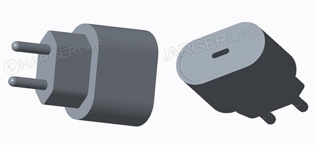 次期iPhoneに同梱されると言われているUSB-C電源アダプタの3D画像が登場