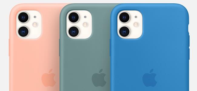 Appleが新しく春の新色iPhone純正ケース、Apple Watch用バンドを発売