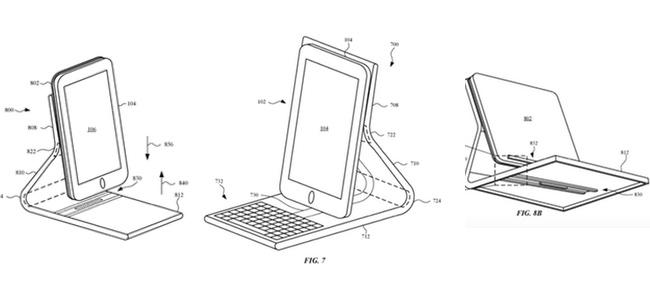 iPhone用のキーボード付きケースが登場するかも?Appleが特許を取得