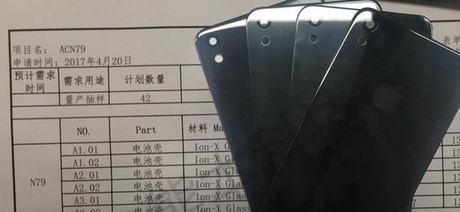 新型のiPhone SEもしくは7sのものとされるバックパネルの画像が登場。Ion-Xガラス採用でカメラの隆起は無し?