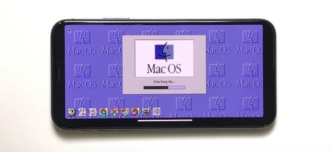 iPhone X、iPad Air 2上でMac OS 8を動作させる映像が登場
