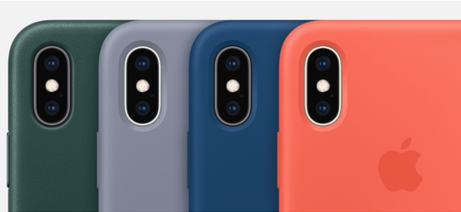Appleが「iPhone XS」「iPhone XS Max」の純正ケースの発売を開始
