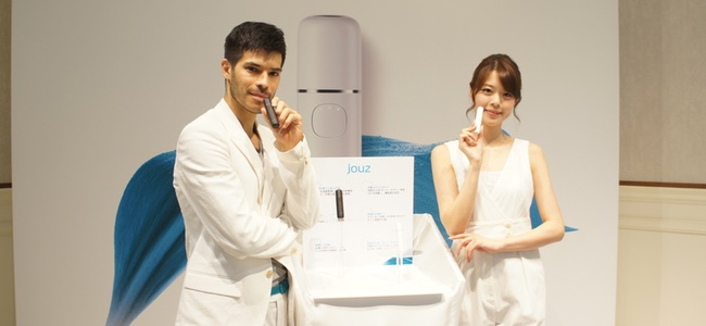 Ankerのバッテリー技術サポートにより1回の充電で最大たばこ一箱分吸える新たな加熱式たばこ専用デバイス「Jouz(ジョウズ)」が発表