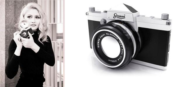 iPhoneがクラシックな一眼レフカメラになるケース「GIZMON iCA5 SLR」