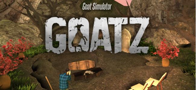 プレイすれば今日から君もヤギさんだ!「Goat Simulator GoatZ」