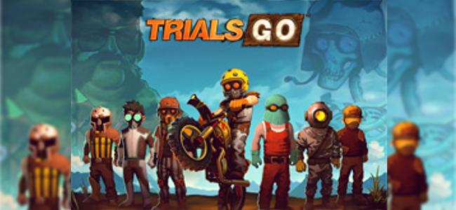 ライバルに負けるな!魅せる走りでゴールを目指せ!「Trials Go」