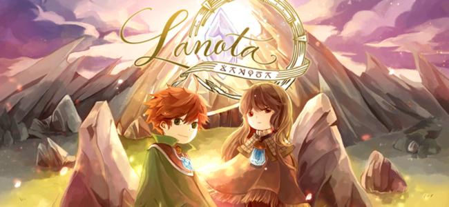 回転する円盤で奏でる素敵な音楽でリズムにのろう。「Lanota」