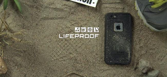 どんなところでも大丈夫な防水・防塵・耐衝撃の最強iPhone 6用ケース「LifeProof」