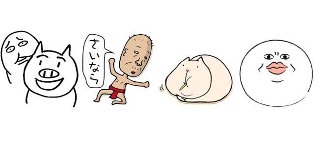 【厳選LINEクリエイターズスタンプ】肉厚たっぷりなカピパラさん「ぽっちゃりかるぴんちょ」、「とんかつ君となめこ男」ほか