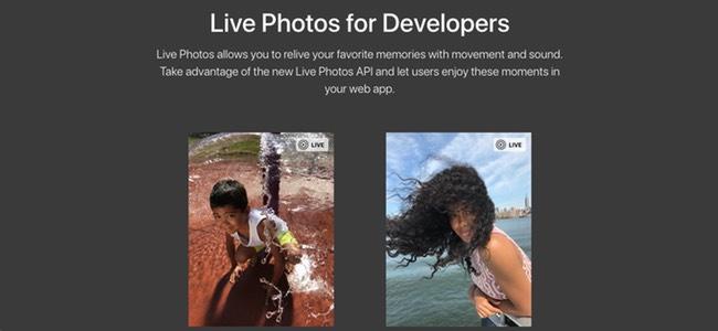 iPhoneで撮影できる動く写真「Live Photos」をApple製品以外を含めウェブ上で動かせるApple公式APIが公開