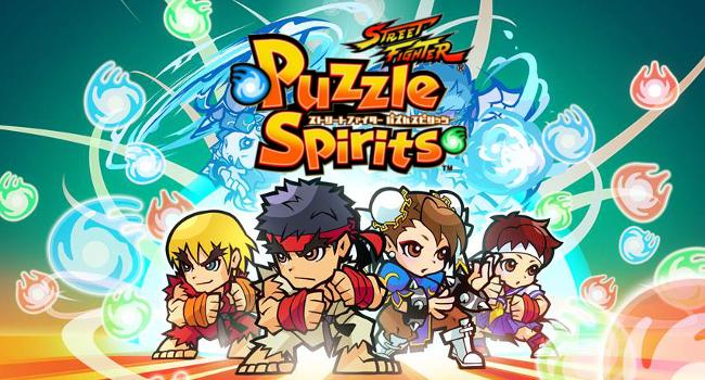 誰もが知っているあのゲームがパズルになってアプリに登場「ストリートファイター パズルスピリッツ」