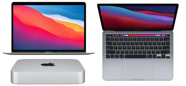 M1チップを搭載した「MacBook Air」「Mac mini」「MacBook Pro」本日発売開始