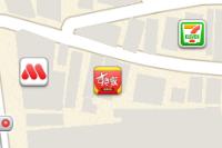 「iOS 標準マップ」がさらに進化、企業店舗のロゴマークが表示されるように!