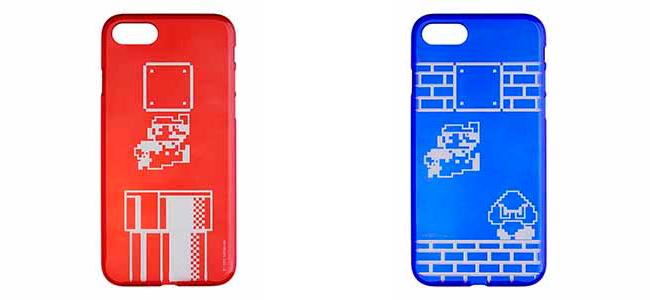 マリオが叩くブロックの中にiPhoneのリンゴマークが!パワーサポート製切子デザインのiPhoneケースがau Online Shopで発売