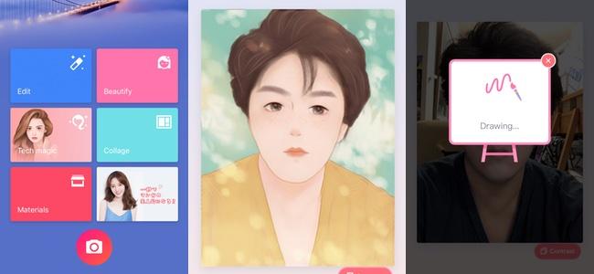 加工が激しすぎて、自分でも「誰だコレ!?」ってなるアプリ「Meitu」がギリギリ元の顔がわかるレベルである意味凄い