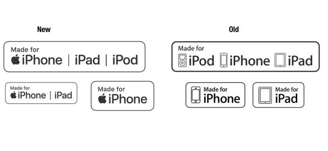 Appleが認定したアクセサリに付けられる「Made for iPhone」のロゴが変更
